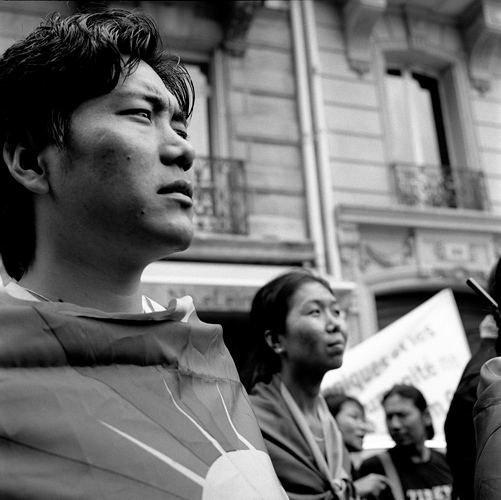 manif tibet