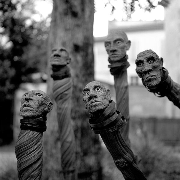 Sculptures de Sourski | Arles | 2015 | Rolleiflex T, TriX 400
